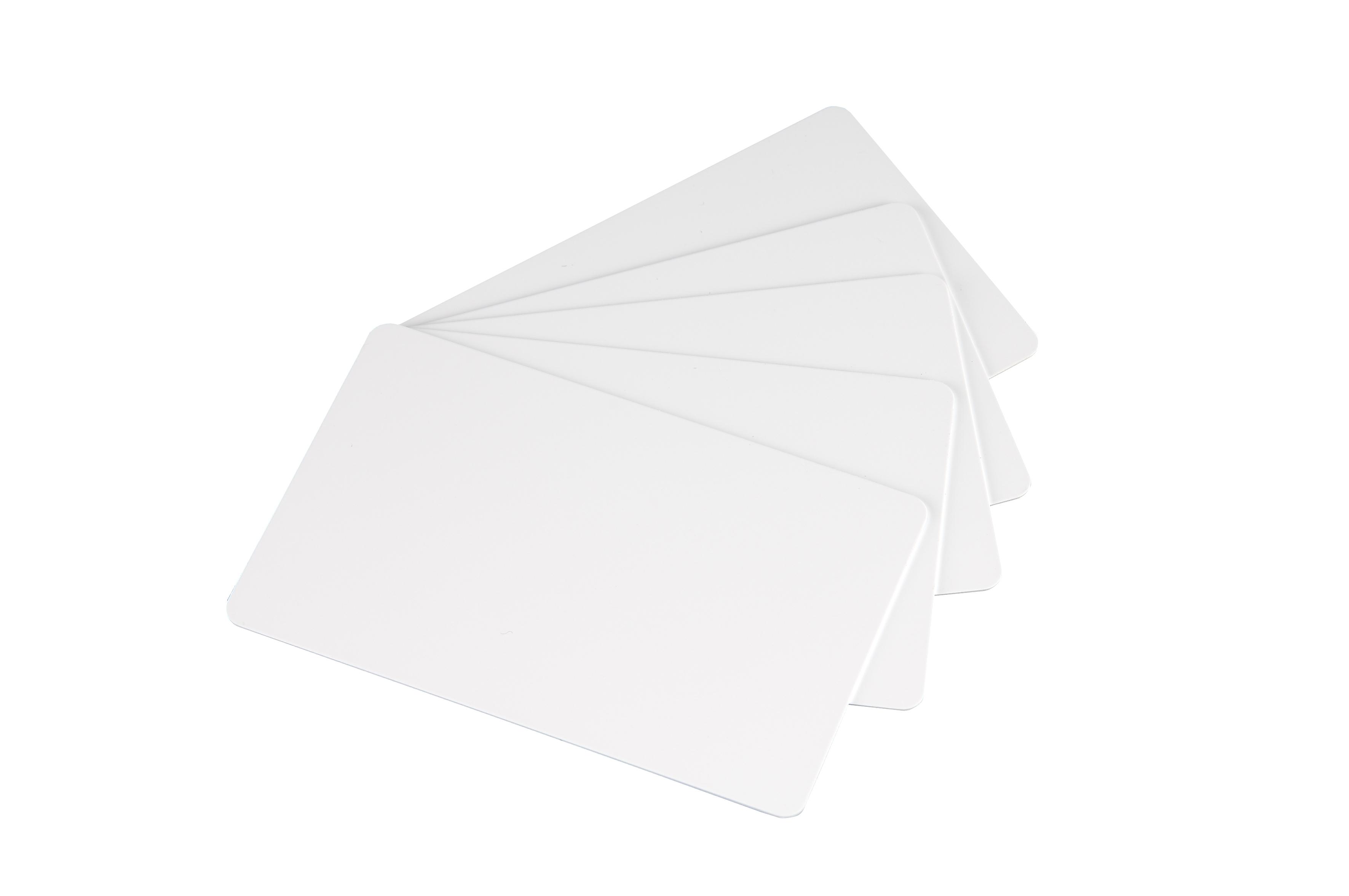 Tarjeta de PVC Blanca